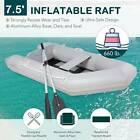 108Ft 09mm PVC Inflatable Fishing Boat Tender Raft with Aluminum Floor