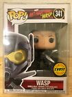 FUNKO POP WASP UNMASKED ANT-MAN MARVEL #341 CHASE LIMITED w FREE PROTECTOR