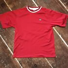 Vintage Pearl Izumi Cycling Jersey Shirt USA 90s Mens Medium Red Polyester Tee