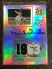 2002 Topps Tribute Marks of Excellence Duke Snider Autograph Jersey Card MER-DS