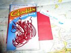 GAMAKATSU 3 0 RED OFFSET SHANK WORM HOOKS NEW IN PACKAGE 089726090052 25 PER
