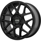 17x8 Black KMC KM708 Wheels 5x120 +38 Fits BMW 318i318ti318is 428