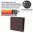K&N Air Filter for 11-18 DODGE DURANGO 3.6L V6/5.7L JEEP GRD CHEROKEE V8 33-2457