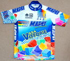GOOD CONDITION MAPEI COMMEMORATIVE TEAM JERSEY SANTINI LARGE 41 CIRCUMFERENCE