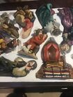 RARE Grandeur Noel Hand Painted Christmas Nativity Set Collectorss Edition 2003