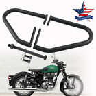Engine Guard Highway Bar Footrest w/ Screws For Royal Enfield Classic 350 500 US