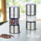 Manual Stainless Steel Salt Pepper Herbs Mill Grinder Spice Muller Kitchen Tool
