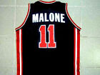 KARL MALONE TEAM USA JERSEY NEW SEWN BLUE ANY SIZE