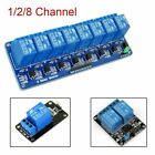 5V Stable Home Switch Relay Module Arduino Board 1 2 8 Channel Optocoupler LED