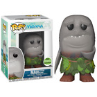 Disney Moana Maui Shark Head ECCC EXCLUSIVE FUNKO POP VINYL RARE (READY TO POST)