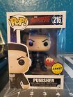 Funko POP Marvel Daredevil Punisher #216 Chase Exclusive Holding Mask