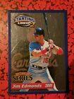 2001 Starting Lineup 2 Extended Series #15 Jim Edmonds St. Louis Cardinals Card