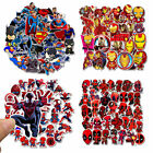 35 Pcs Lot Stickers MARVEL Avengers Super Hero DC For Car Laptop Skatboard Decal