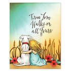 Penny Black clear acrylic rubber stamp set GENTLE THOUGHTS dog