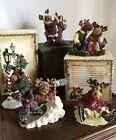 Boyds Bear Moose Troop Winter Collection