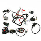 ATV Wiring Harness For ATV QUAD 150 200 250CC W CDI Solenoid Relay Spark Plug