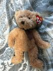 TY Beanie Babies Retired HUNTLEY TEDDY BEAR MWMT & PROTECTOR