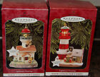 Hallmark Lighthouse Greetings - Magic Collectors Series 2 Ornaments MIB 1st 2 nd