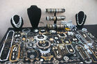 Huge lot of vintage now costume jewelry deco style nice pieces