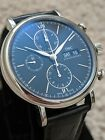 IWC Portofino Chronograph Day-Date IW391008 Automatic Men's Watch blue dial