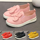 Toddler Kids Baby Girls Cute Bowknot Rabbit Ear Single Princess Sneakers Shoes