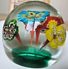 Mid Cent Modern Multi Color Close Packed Millefiori Paperweight Canes
