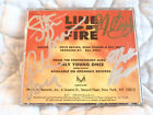 TRIXTER LINE OF FIRE CD SINGLE PROMO SIGNED AUTOGRAPHED HAIR METAL ROCK NJ 90'S