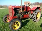 Antique Veteran Massey Harris Pacemaker Tractor 1936 not Case Fordson