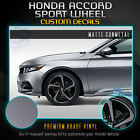 For 2018-2019 Honda Accord Sport Wheel Chrome Delete Vinyl Kit - Flat Matte