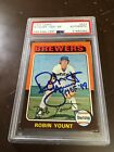 Robin Yount Cards, Rookie Cards and Autographed Memorabilia Guide 14