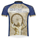 Primal Wear Old Fart Atlas Cycling Jersey Mens blue short sleeve bicycle + sox