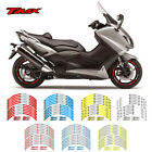 For YAMAHA Tmax  #style 2 Motorcycle wheel paster motorcycle wheel sticker