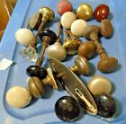 Large Lot of Antuque Door Knobs All Kinds