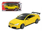 2003 Honda Accord Custom Tuner Yellow 1 18 Diecast Model Car by Motormax