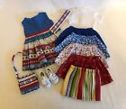 Lot 10 Doll Clothes fit 18 American Girl Doll Sailing Dress Nautical Patriotic