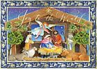 Punch Studio Winter Nativity Dimensional Holiday Boxed Cards Set of 12 NIP T9
