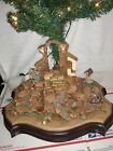 Hawthorne Village Nativity Christmas Tree Masterpiece Edition tree base Musical