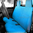 Custom Fit Triple Stitched Thick Small Pickup Truck Bench Blue Seat Cover