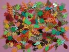 100 Assorted Fall Foliage Scrapbooking embellishments DIY CRAFTS CARDS