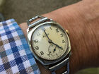 Rare Vintage Thomas Russell Sterling Silver Mans Wrist Watch No Reserve