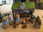 JIM SHORE 2007 NATIVITY SET 10 PIECE HEARTWOOD CREEK