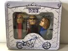 PEZ Orange County Choppers TIN 2006 ,Dispensers w/candy Paul Jr. & Sr. & Mikey