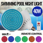 Swimming Pool Light 12V 40W RGB LED W Remote Control PC Cover Non Waterproof