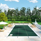 Safety Pool Cover 20X40 FT Rectangular In Ground Non toxic Evaporation Winter