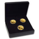 2007-2009 Canada Gold $300 Olympic 3-Coin Set - SKU#195647