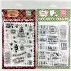 Echo Park Lot Of 2 Clear Stamp Sets Christmas Day  Trust In The Lord