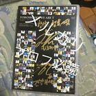 Tohoshinki Sign Hand-Drawn Dvd Aged Deterioration Rubbing There Message Included