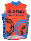 SALE 3995 Old Fart Cycling Team Jersey Mens Sleeveless bicycle Free Shipping