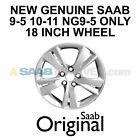 NEW GENUINE SAAB NG 9 5 18 INCH WHEEL 5 SPOKE ALU 102 RARE OEM 13241705