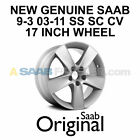 NEW GENUINE SAAB 9 3 17 AERO RIM INCH WHEEL 5 SPOKE ALU 59 RARE OEM 12759551